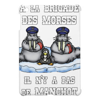 With the BRIGADE OF the MORSES there is no PENGUIN iPad Mini Cover