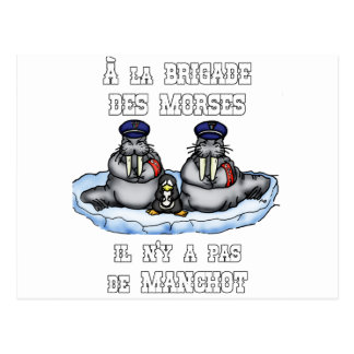 With the BRIGADE OF the MORSES there is no PENGUIN Postcard