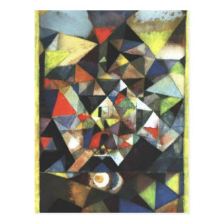With the Egg by Paul Klee Postcard