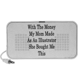 With The Money My Mom Made As An Illustrator She B Mp3 Speakers
