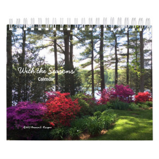 With the Seasons - Calendar ---