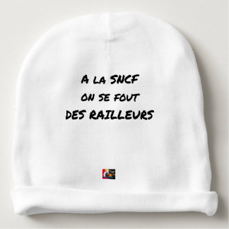 WITH the SNCF ONE SE FOUT OF the SCOFFERS - Word Baby Beanie