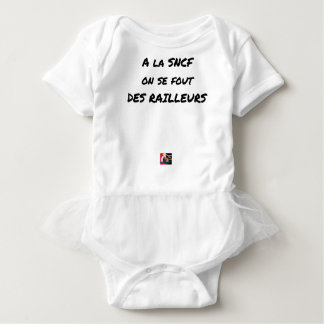 WITH the SNCF ONE SE FOUT OF the SCOFFERS - Word Baby Bodysuit