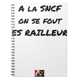 WITH the SNCF ONE SE FOUT OF the SCOFFERS - Word Notebooks