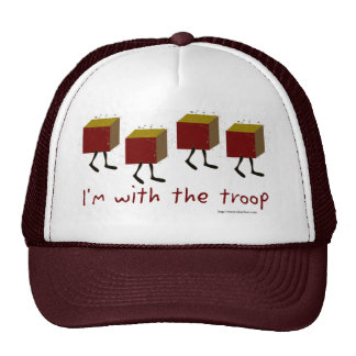 With The Troop Mesh Hat