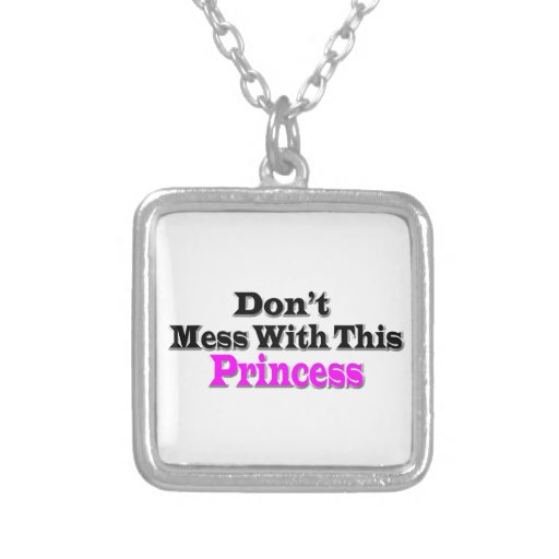 With This Princess Necklaces