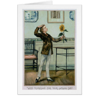 With Yearnings For Your Intense Joy, Victorian Chr Card