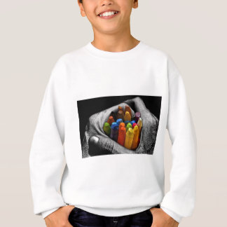 Within My Hands I Can Create, Express and Be Free. Sweatshirt