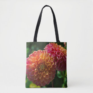 Within The Dahlia Garden 1 Tote Bag