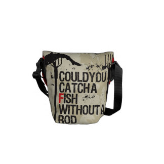 WITHOUT A ROD bag Commuter Bag
