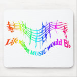 Without Music Life would B Flat Humour Quote Fun