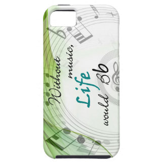 Without Music, Life Would Bb iPhone 5 Cases