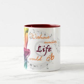Without Music Life Would Bb Mugs