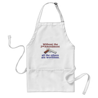 Without the 2nd Amendment Standard Apron