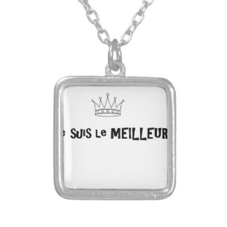 Without title silver plated necklace