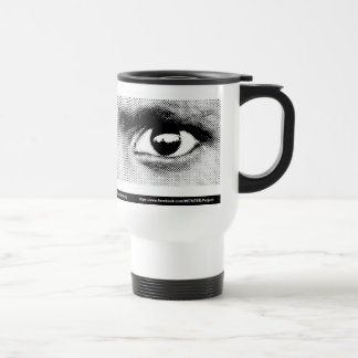 WITNESS eye stainless steel mug