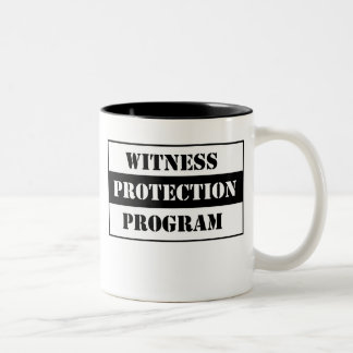 Witness Protection Two-Tone Coffee Mug