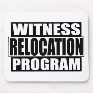 witness relocation program mouse pad