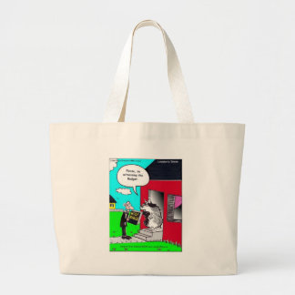 Witness The Badger Funny Mugs Cards Tees & Gifts Canvas Bag