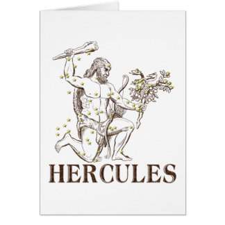 WITS: Hercules Greeting Card