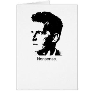 Wittgenstein's Charm Card