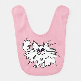 Witty Kitty Baby Bib
