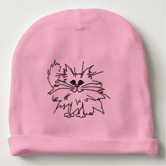 Witty Kitty Baby Knit Cap Baby Beanie