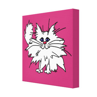 Witty Kitty Canvas