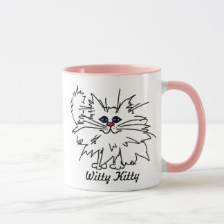 Witty Kitty Coffee Cup