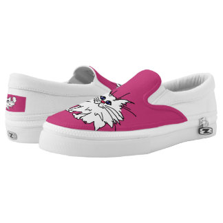 Witty Kitty Zipz Slip On Shoe
