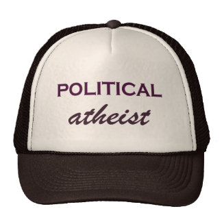 Witty Political Atheist Trucker Hat