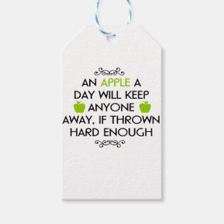 Witty quote gift tags