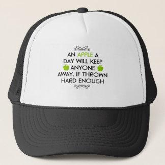 Witty quote trucker hat
