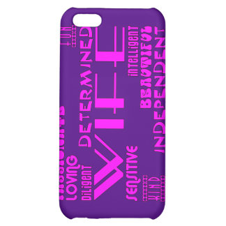Wives Wedding Anniversary Birthday Party Qualities Case For iPhone 5C