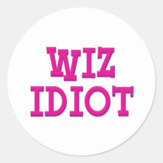 Wiz Idiot Stickers