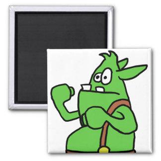 Wizard101 Gobbler Fisticuffs Square Magnet
