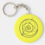 Wizard101 Spiral Keychain