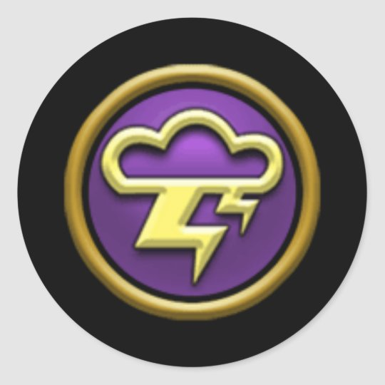 Wizard101 Storm School Stickers