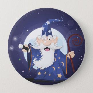 Wizard 10 Cm Round Badge