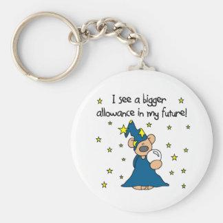 Wizard Allowance Keychains