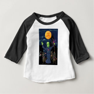 Wizard and Evil Raccoons Baby T-Shirt