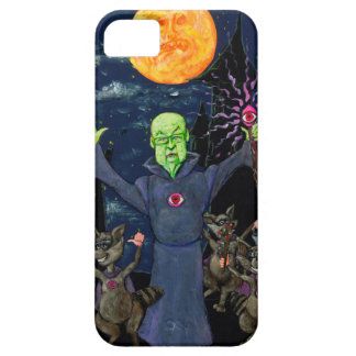 Wizard and Evil Raccoons Barely There iPhone 5 Case
