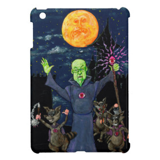 Wizard and Evil Raccoons iPad Mini Case
