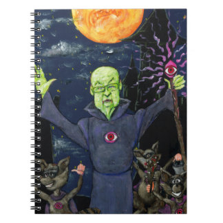 Wizard and Evil Raccoons Notebooks