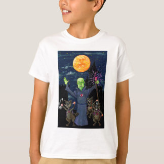 Wizard and Evil Raccoons T-Shirt
