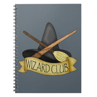 Wizard Club Spiral Notebook