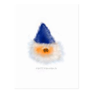 Wizard Critter Postcard