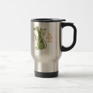 Wizard Dragon Steel Travel Mug