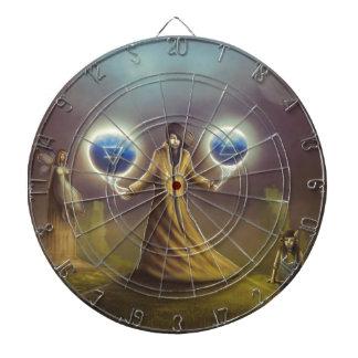 wizard fantasy magic dartboard