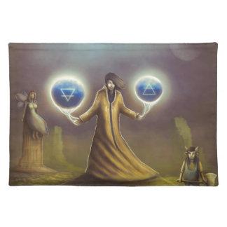 wizard fantasy magic placemat